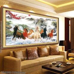 Tranh thêu kín Monalisa DW0548