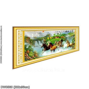 Tranh thêu kín Monalisa DW0560