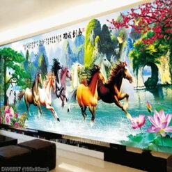 Tranh thêu kín Monalisa DW0567