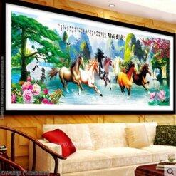Tranh thêu kín Monalisa DW0568