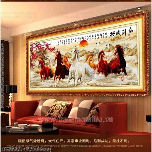 Tranh thêu kín Monalisa DW0569