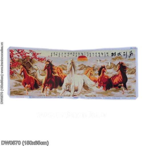 Tranh thêu kín Monalisa DW0570