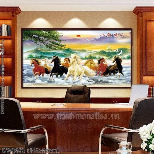 Tranh thêu kín Monalisa DW0573