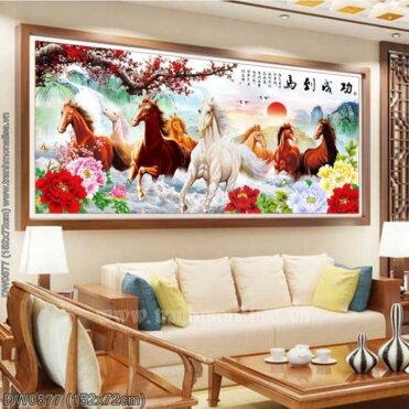 Tranh thêu kín Monalisa DW0577