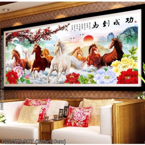 Tranh thêu kín Monalisa DW0578-9CT