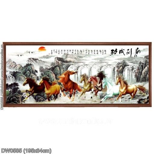 Tranh thêu kín Monalisa DW0585