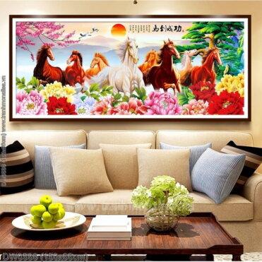 Tranh thêu kín Monalisa DW0586