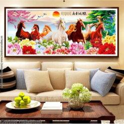 Tranh thêu kín Monalisa DW0587