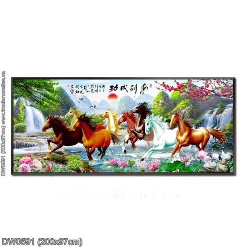 Tranh thêu kín Monalisa DW0591