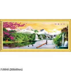 Tranh thêu kín Monalisa FJ0548