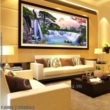 Tranh thêu kín Monalisa FJ0653