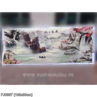 Tranh thêu kín Monalisa FJ0667