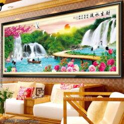 Tranh thêu kín Monalisa FJ0669