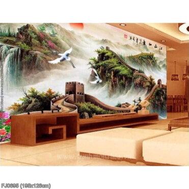 Tranh thêu kín Monalisa FJ0695