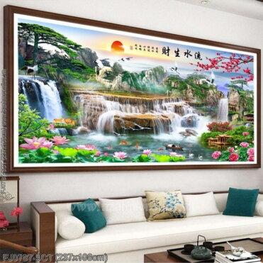 Tranh thêu kín Monalisa FJ0787-9CT