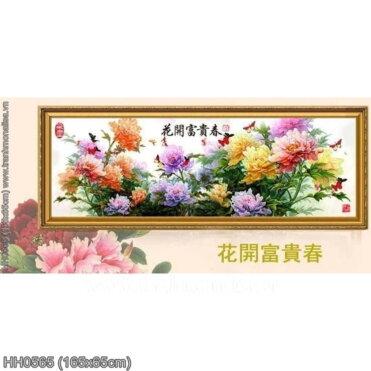 Tranh thêu kín Monalisa HH0565