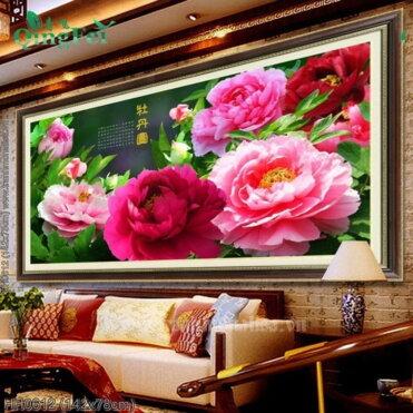 Tranh thêu kín Monalisa HH0612