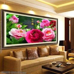 Tranh thêu kín Monalisa HH0650