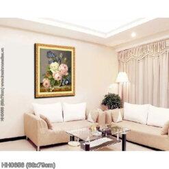 Tranh thêu kín Monalisa HH0656