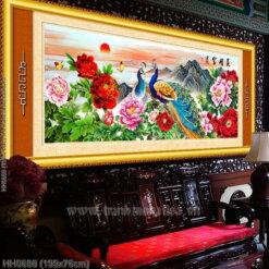 Tranh thêu kín Monalisa HH0686