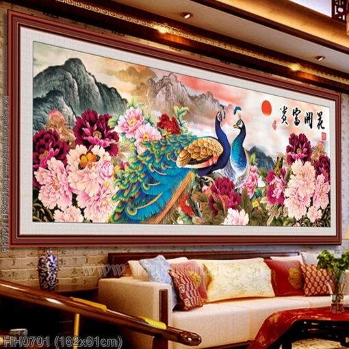 Tranh thêu kín Monalisa HH0701