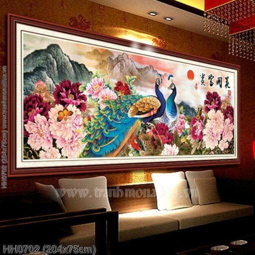 Tranh thêu kín Monalisa HH0702
