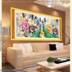 Tranh thêu kín Monalisa HH0712