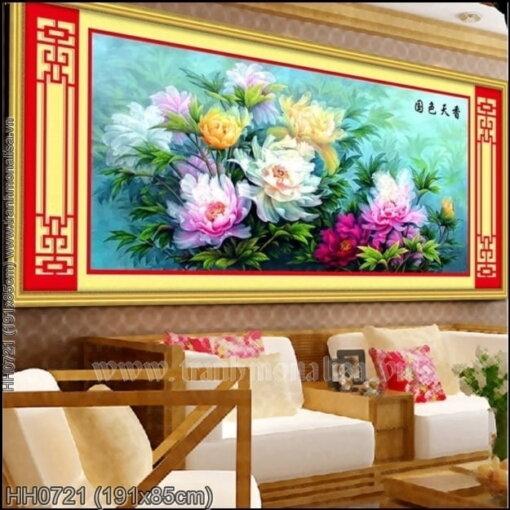 Tranh thêu kín Monalisa HH0721