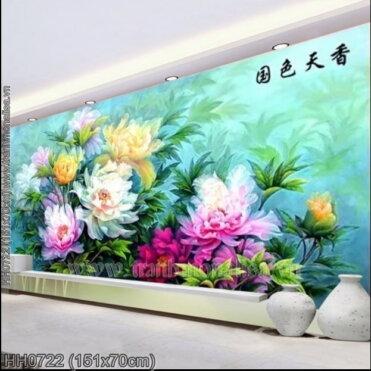Tranh thêu kín Monalisa HH0722