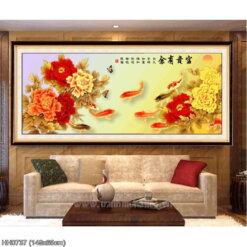 Tranh thêu kín Monalisa HH0737