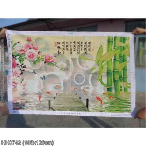Tranh thêu kín Monalisa HH0742