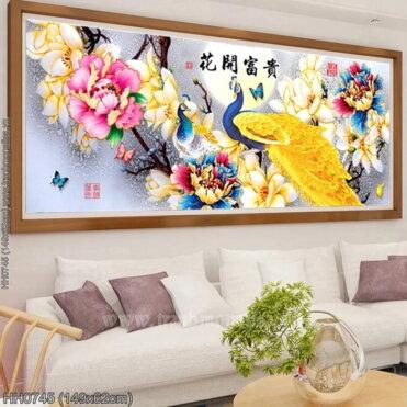 Tranh thêu kín Monalisa HH0745