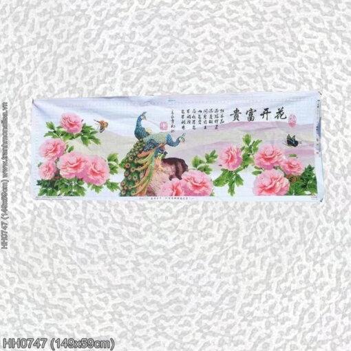 Tranh thêu kín Monalisa HH0747