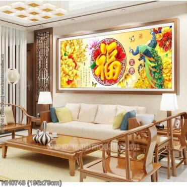 Tranh thêu kín Monalisa HH0748
