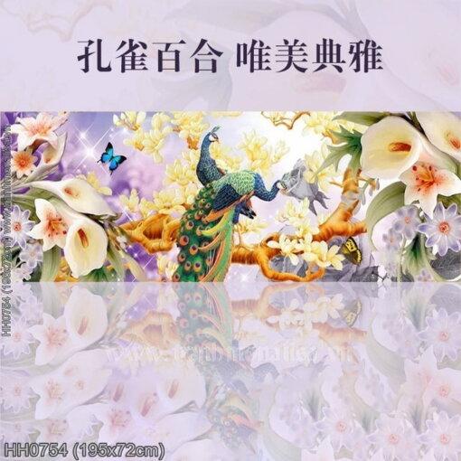 Tranh thêu kín Monalisa HH0754