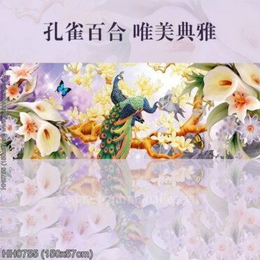 Tranh thêu kín Monalisa HH0755