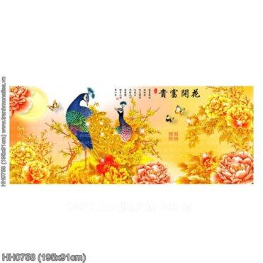 Tranh thêu kín Monalisa HH0758