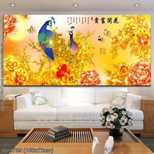 Tranh thêu kín Monalisa HH0759