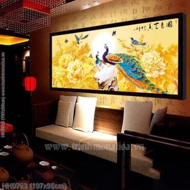 Tranh thêu kín Monalisa HH0763
