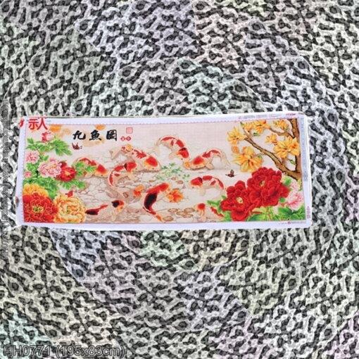 Tranh thêu kín Monalisa HH0771