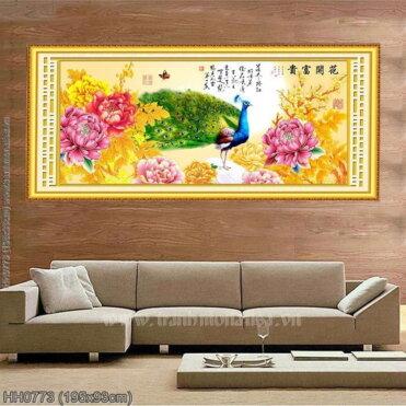 Tranh thêu kín Monalisa HH0773