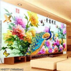 Tranh thêu kín Monalisa HH0777