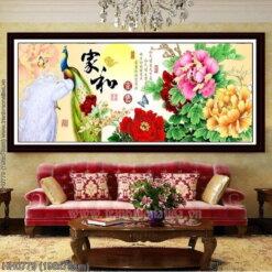 Tranh thêu kín Monalisa HH0779