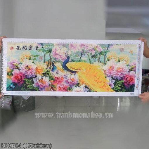 Tranh thêu kín Monalisa HH0784