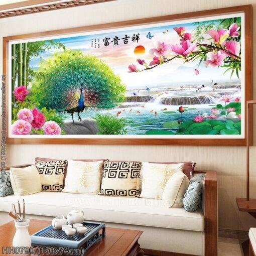 Tranh thêu kín Monalisa HH0790