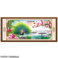 Tranh thêu kín Monalisa HH0791