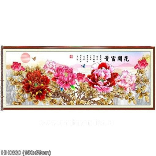 Tranh thêu kín Monalisa HH0830