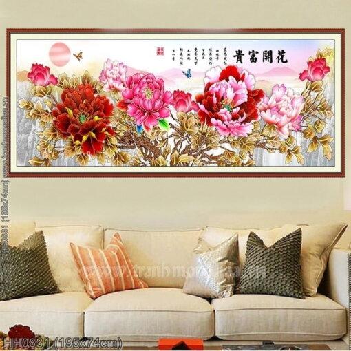 Tranh thêu kín Monalisa HH0831