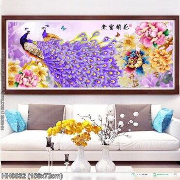Tranh thêu kín Monalisa HH0832