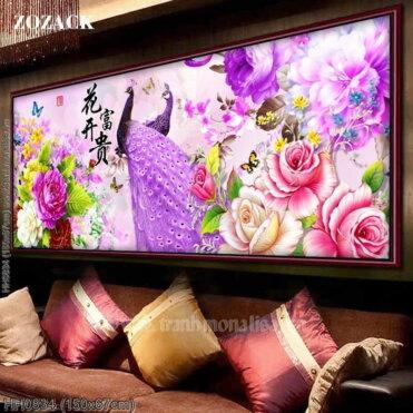 Tranh thêu kín Monalisa HH0834